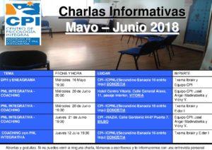 Charlas JUNIO