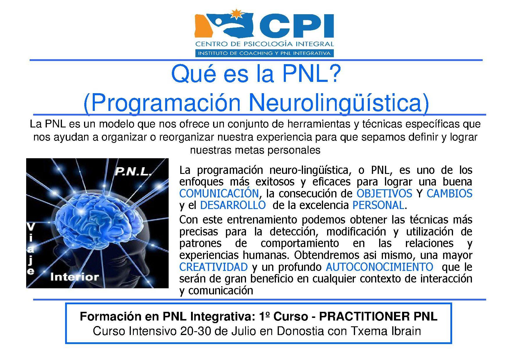 ¿QUe es la PNL 2